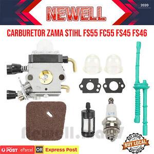 Carburetor for ZAMA STIHL FS55 FC55 FS45 FS46 FS38 FS85 HL45 KM55 Carburettor AU