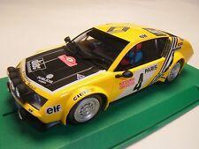 Avant Slot Renault Alpine A310 Rallye Monte Carlo für Autorennbahn 1:32 Slotcar