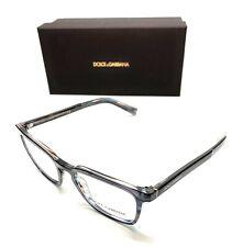 Dolce & Gabbana DG 3307 3196 Blue Men Authentic Eyeglasses Frame 51-19