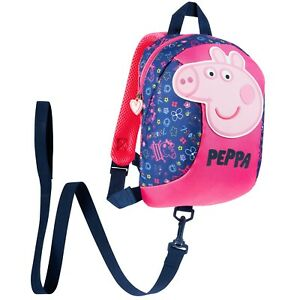 Peppa Pig Backpack with Reins - Safety Reins for Toddlers Girls