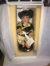 China Classic Miniature by Lee Middleton Doll previously owned, new in box