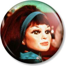 """Tin-Tin Kyrano Thunderbirds 1"""" Pin Button Badge Tracy Island Character Puppet"""