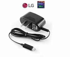 2 x  LG OEM Micro USB AC Travel Home Wall Charger Adapter for LG Cell Phones