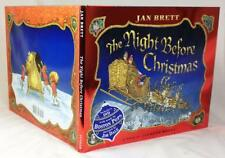 THE NIGHT BEFORE CHRISTMAS, Signed by illustrator Jan Brett, with DVD, New