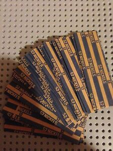 Free Shipping 200 New Ten Cents Dime Pop-Open Flat Paper Coin Wrappers Tubes