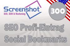 📒 300 Einträge in Social Bookmarks  ⭐Profi-Eintrag vom SEO  📈Backlinkaufbau