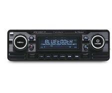 RMD120BT Rétro Classique Mechless Bluetooth USB Aux Voiture Stéréo Radio Player Noir