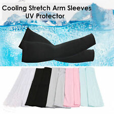 1Pair Cooling UV Sun Protection Basketball Golf Athletic Sport Arm Sleeves Cover