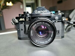 Canon A-1 Filmkamera 35mm