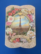 Punch Studio Small Trinket Box- With Rose Soap -Collectable