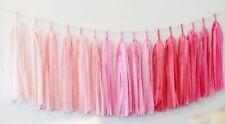 Tassel garland bunting - custom colors - 6.5ft / 2m- wedding party decorations