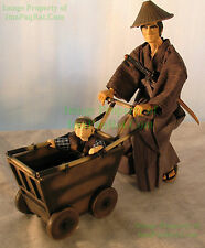 "Lone Wolf and Cub Ogami Action Figure 12"" NITF! Mega House / Dark Horse 2001"