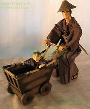 "Lone Wolf and Cub Ogami Action Figure 12"" NITF! Mega House / Dark Horse 2001"