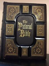 ANTIQUE HOLY FAMILY KING JAMES BIBLE