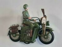 Harley Davidson WLA TIN TOY 20cm 2002's hard to find