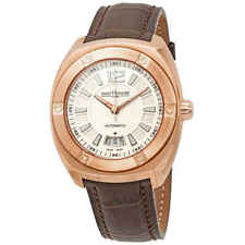 Saint Honore Automatic Men's Leather Watch 897010 8ainn