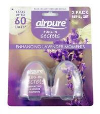 AirPure Plug In Air Freshener Refills 2PK - Enhancing Lavender Moments x 6