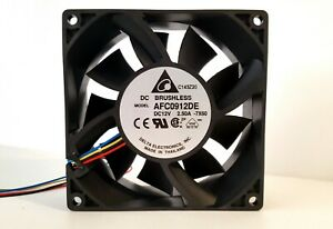 """""""BRAND NEW"""" DELTA AFC0912DE 12V DC 2.5A 4-WIRE BRUSHLESS COOLING FAN - USA SHIP"""