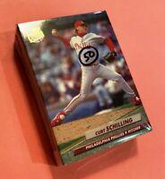 50) CURT SCHILLING Philadelphia Phillies 1992 Fleer Ultra Baseball Card #548 LOT