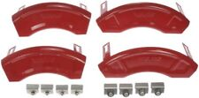 Set 4 Disc Brake Caliper Aesthetic/Upgrade Covers for Buick Chevy GMC Gloss Red