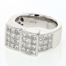 Genuine 2.91 CTW Diamond Fashion Ring in 14K White Gold - REF-352M3G Lot 5081