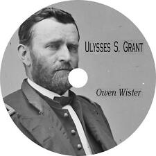 Ulysses S. Grant Biography Audiobook by Owen Wister on 3 Audio CDs Free Shipping