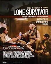 LONE SURVIVOR Oscar Golden Globe consideration ad Mark Wahlberg Peter Berg