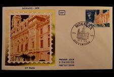MONACO PREMIER JOUR FDC YVERT  1180     OPERA DE MONTE CARLO     3F   1979