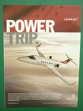 6/2004 PUB BOMBARDIER LEARJET REGIONAL AIRCRAFT BUSINESS JET ORIGINAL AD