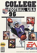 College Football USA 96 (Sega Genesis, 1995)