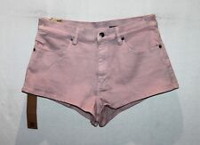 "KSUBI Brand Women's Pink Midnight Runner Denim Shorts Size 30"" BNWT #TB45"