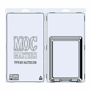 """MOC Masters - 5,5"""" MOTU Star Case / Blister Case / UV Protective Clamshell"""