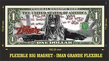 ROB ZOMBIE IMAN BILLETE 1 DOLLAR BILL MAGNET