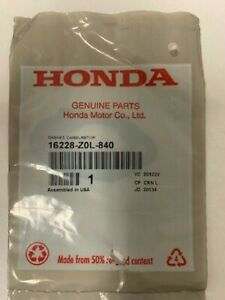 Honda Part # 16228-Z0L-840 Carburetor Gasket
