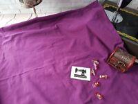 50cm PURPLE Solid cotton lycra fabric 4 way stretch knit fabric 185cm wide