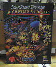 Star Fleet Battles Captain's Log 15 Too Close To The Flame Task Force Games SFB