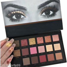 Rose Gold Textured Eyeshadow 18 Color Matte Eyeshadow Palette Cosmetics Beauty @