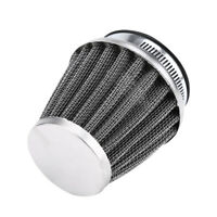Universal Motorcycle 50mm Cold Air Intake Tapered Air Filter Straight Cleaner