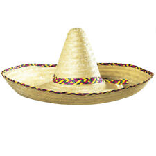 High Quality Mexican Sombrero Straw Hat, Amazing  and Simple, Fancy Dress