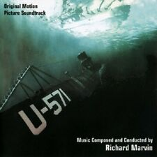 U-571 Richard Marvin LIMITED COMPOSER PROMO SEALED WWII SUBMARINE ACTION