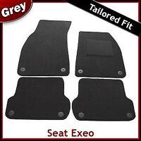 Seat Exeo 2008-2013 Tailored Carpet Car Floor Mats GREY