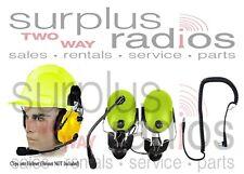 Pryme Yellow Headset Construction Motorola Radio RDU2020 RDV2020 RDU4100 RDV5100