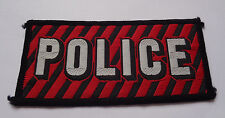 POLICE  CLOTH PATCH