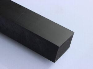 Plastique Bloc Carré Pa 215x70x50mm Noir Bloc Plaque Rest Pièce