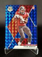 TYLER JOHNSON - 2020 Mosaic - MOSAIC BLUE Prizm - Rookie RC #241 🔥 #'d /99