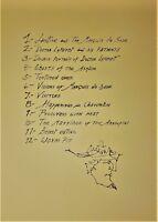JOSE LUIS CUEVAS Original PENCIL SIGNED TAMARIND LITHOGRAPH 1965 CHARENTON SUITE