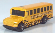 "Hot Wheels Ford B Series Conventional High School Bus 3.25"" Diecast Scale Model"