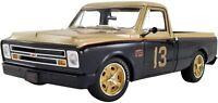 1967 Chevy C10 Pickup Truck Smokey Yunick Gold and Black Limited Edition A180721