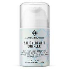 Salicylic Cream Anti Acne | 2% Salicylic & Lactic, Kaolin Clay 2oz