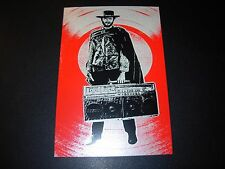 """BLUNT GRAFFIX Fistful of Ghetto Blasters PEARL FOIL HANDBILL 4X6/"""" poster print"""